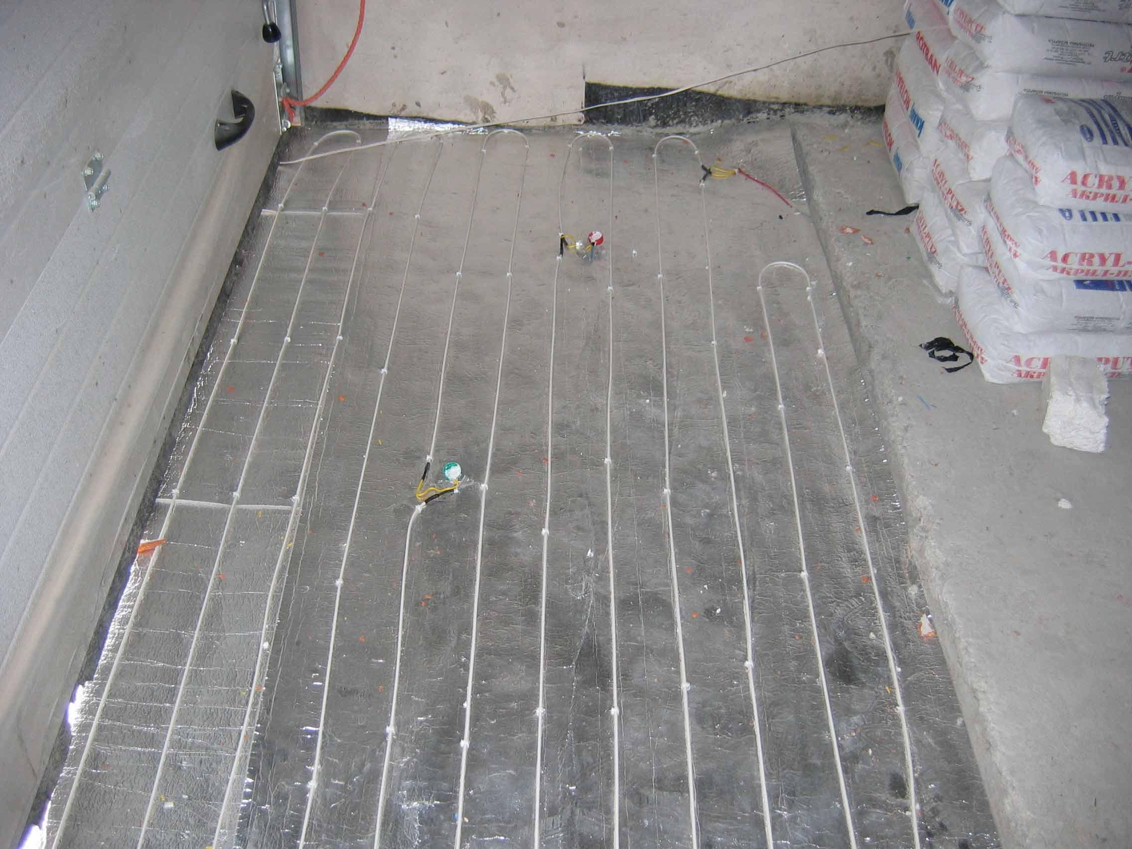 Как быстро сделать пол в гараже